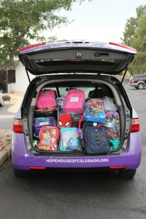 Backpack Drive Steals the Show!