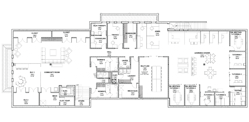 Resource center blueprints hope house of colorado resource center lower level 7500 sq ft malvernweather Choice Image