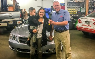 Teen Mom Receives Car for Mother's Day
