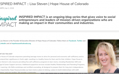 Inspire Impact Gives Hope House a Voice