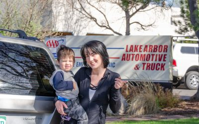 Hope House and Lake Arbor Auto Provide Vehicle For Teen Mom
