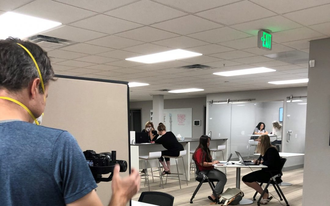 Local Nonprofit Production Company On-site at Hope House