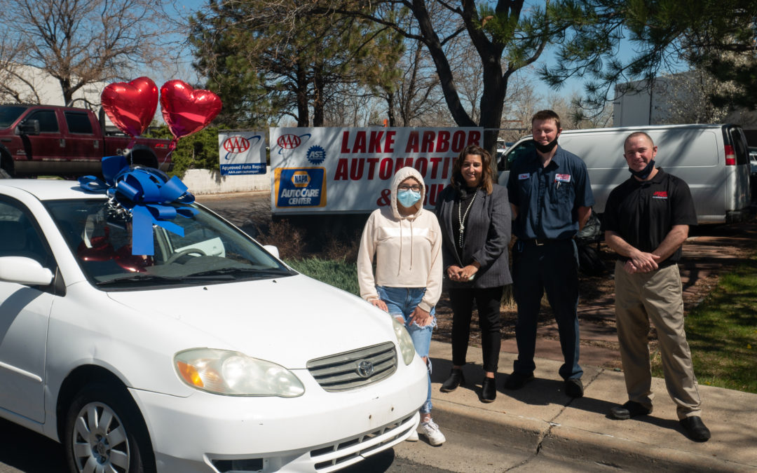 Teen Mom Receives Vehicle Donation